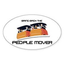 People Mover Oval Decal