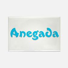 Anegada Rectangle Magnet