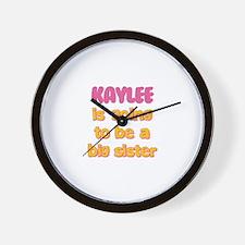 Kaylee - Going to be Big Sist Wall Clock