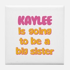 Kaylee - Going to be Big Sist Tile Coaster