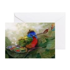 Painter Painted Bunting Bird- Pack of 20 cards
