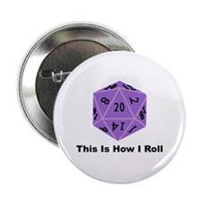 """How I Roll 2.25"""" Button (10 pack)"""