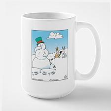 Snowman's Carrot Nose Mug