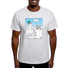 Snowman's Carrot Nose T-Shirt