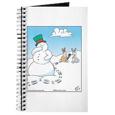 Snowman's Carrot Nose Journal