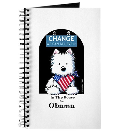 In The HOUSE For OBAMA Journal