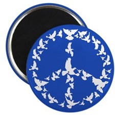 Cute Peace dove Magnet