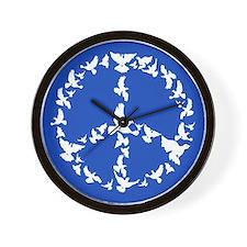 Funny World peace Wall Clock