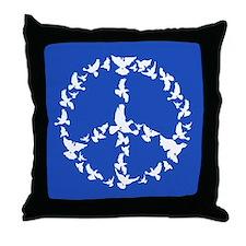 Anti war Throw Pillow