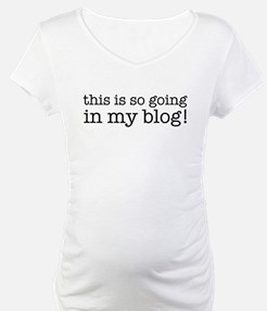 This is so going in my blog Shirt