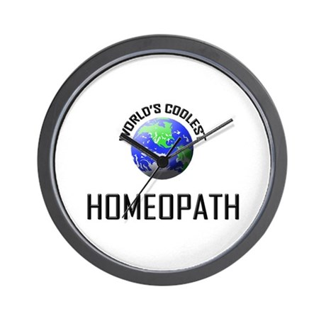 World's Coolest HOMEOPATH Wall Clock