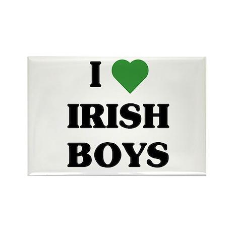 I Love Irish Boys Rectangle Magnet