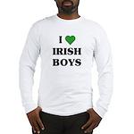 I Love Irish Boys Long Sleeve T-Shirt