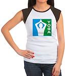Starry / Chihuahua (Blue/Tan) Kids Light T-Shirt