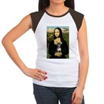 Mona Lisa / Chihuahua Women's Cap Sleeve T-Shirt