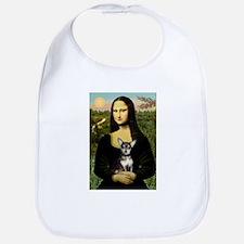 Mona Lisa / Chihuahua Bib