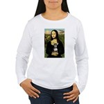 Mona Lisa / Chihuahua Women's Long Sleeve T-Shirt