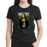 Mona Lisa / Chihuahua Women's Dark T-Shirt
