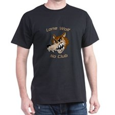Lone Wolf, No Club T-Shirt