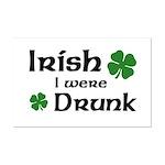 Irish I were Drunk Mini Poster Print