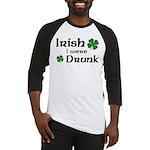 Irish I were Drunk Baseball Jersey