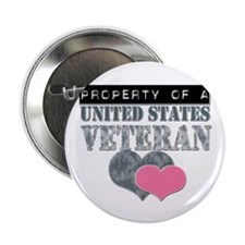 "Property of a US Veteran 2.25"" Button"