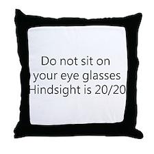 Optometrist Throw Pillow