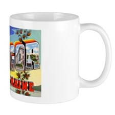 Bangor Maine Greetings Coffee Mug