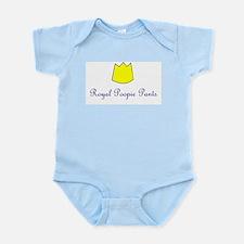 ROYAL POOPIE PANTS Infant Bodysuit