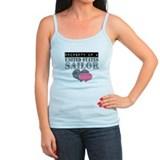 Military navy girlfriend Tanks/Sleeveless