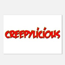 Creepylicious Postcards (Package of 8)