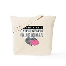 Property of a US Guardsman Tote Bag