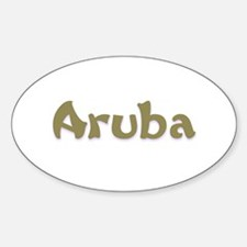 Aruba Oval Decal