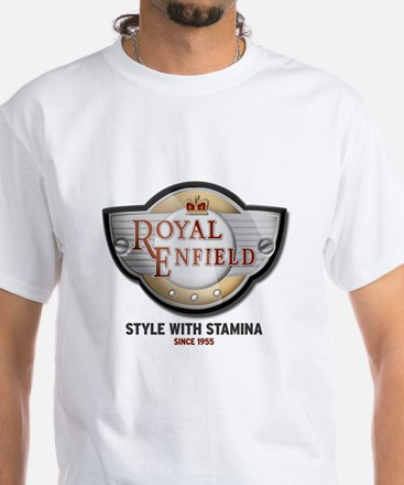Style With Stamina White T-Shirt