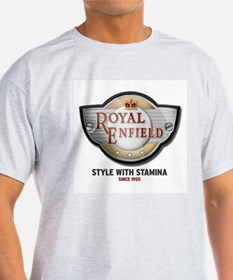 Style With Stamina Ash Grey T-Shirt