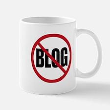 No Blogging Mug