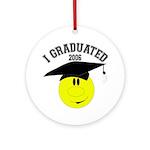 I Graduated 2005 Keepsake (Round)