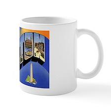 Boston Massachusetts Greetings Mug