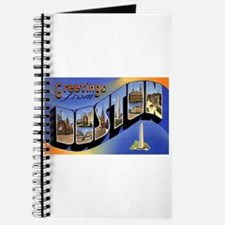 Boston Massachusetts Greetings Journal