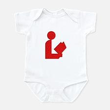 Library Love Logo Infant Bodysuit