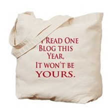 If I read one blog Tote Bag