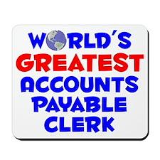 World's Greatest Accou.. (A) Mousepad