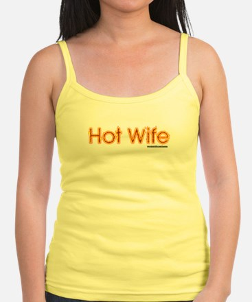 Hot Wife on fire Tank Top