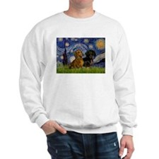 Starry Night Doxie Pair Jumper