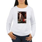 Princess & Doxie Pair Women's Long Sleeve T-Shirt