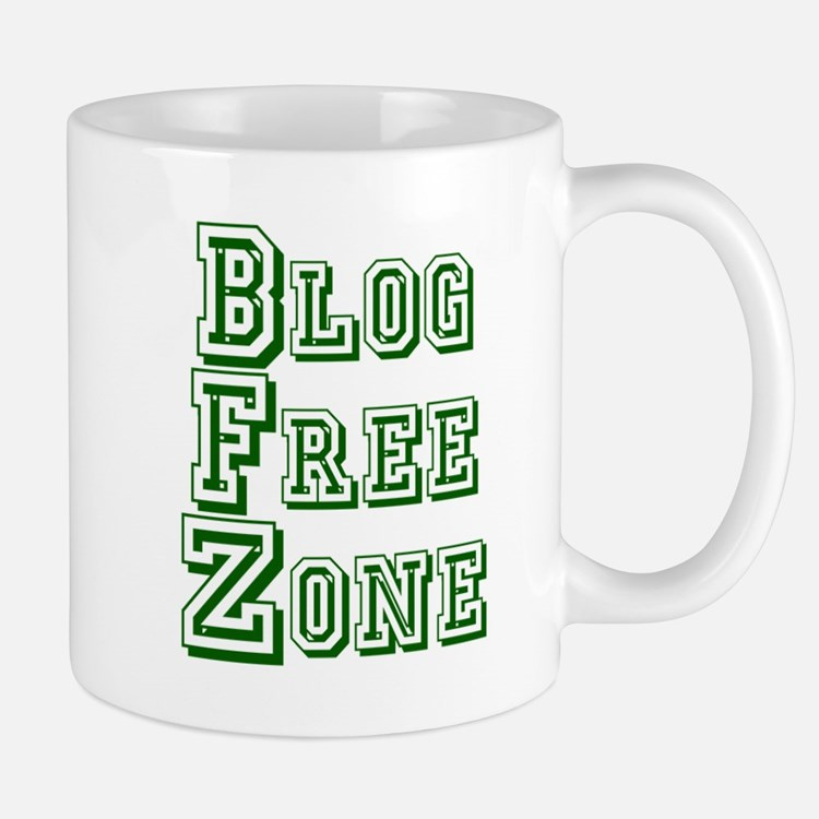 Blog Free Zone Mug