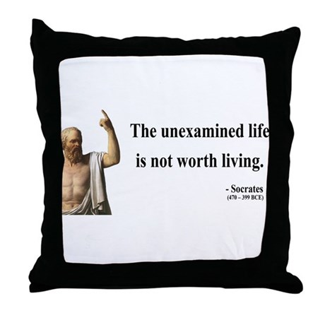 Socrates 1 Throw Pillow