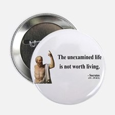 "Socrates 1 2.25"" Button"