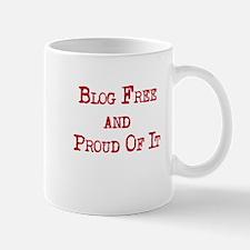 Blog Free and Proud Mug