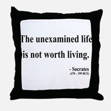 Socrates 1 Throw Pillow